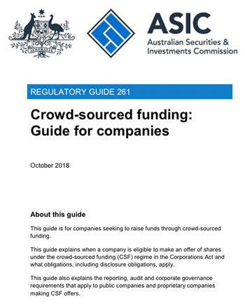 Preparing an Equity Crowdfunding Offer RG261