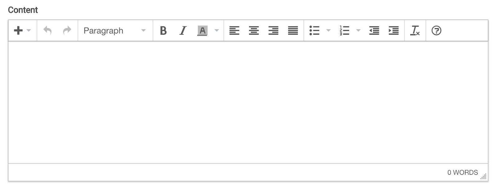 Writing Content in billfolda from editor